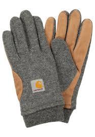 100 Carhart On Sale T WIP Women FOSTER Gloves Dark Grey Heather
