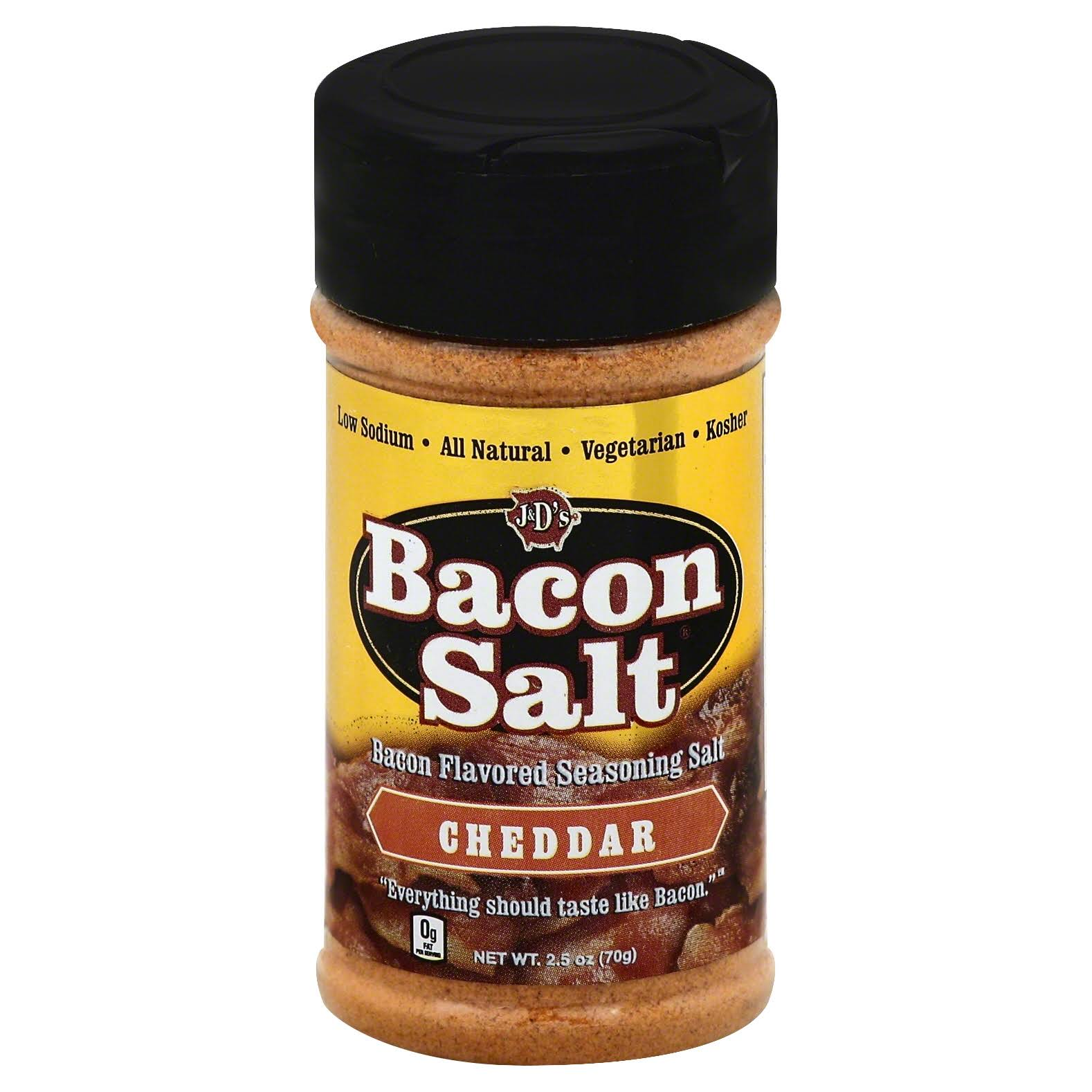 J&D's Cheddar Bacon Salt - 2.5oz
