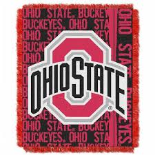 Ohio State Buckeyes NCAA Bedding and Fan Room Accessories – Bed