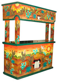 Mexican Carved Furniture Rustic