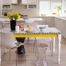 Bright White And Yellow Kitchen Decor Ideas