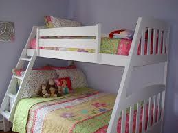 White Full Over Full Bunk Beds Design Amazing White Full Over