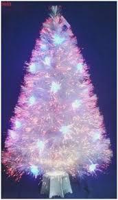 Small Led Christmas Tree Beautiful Fiber Optic Trees On Pinterest