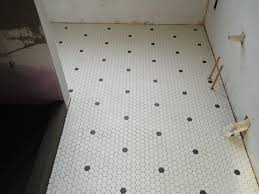 cutting hexagonal floor tile robinson house decor