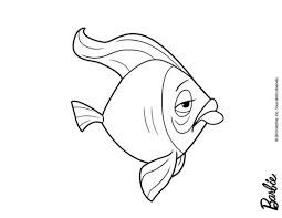 Barbie Mermaid Tale Coloring Pages Sad Fish Printable 429564 For Free 2015