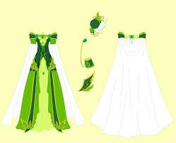 Emerald Dress Design By Eranthe