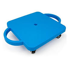 115quot Gym Class Super Scooters Sliding Board With Non Skid Casters And Safety Handles