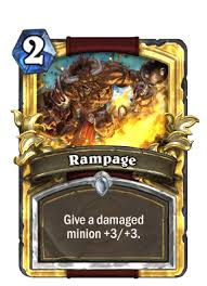 Patron Warrior Deck Hearthpwn by Rampage Hearthstone Cards
