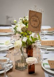 8 Ideas For Your Rustic Wedding Table From Bright Settings