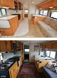 Before Rv Remodel And After Fifth Wheel Renovation U Sqftrhsqftcom Photos Of A