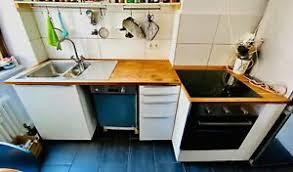 single küche mit allen elektrogeräten 3 jahre alt
