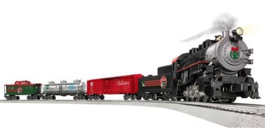 Lionel Santa Freight Lines LionChief Bluetooth Train Set Figurine