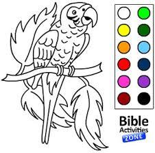 Online Bible Coloring Activities