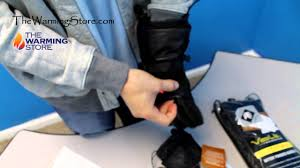 leather heated gloves youtube