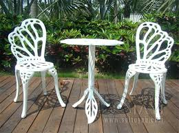 Cast Aluminum Outdoor Sets by White Cast Iron Patio Furniture U2013 Bangkokbest Net