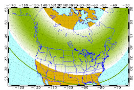 Northern Lights May Be Visible From N J Tuesday Night