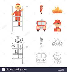 Fireman, Flame, Fire Truck. Fire Department Set Collection Icons In ... Fire Truck Clipart Free Truck Clipart Front View 1824548 Free Hand Drawn On White Stock Vector Illustration Of Images To Color 2251824 Coloring Pages Outline Drawing At Getdrawings Fireman Flame Fire Departmentset Set Image Safety Line Icons Lileka 131258654 Icon Linear Style Royalty 28 Collection Lego High Quality Doodle Icons By Canva
