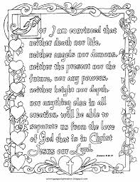 Printable Romans 838 39 Coloring Page In Illuminated Text Style