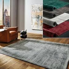 moderner teppich miramar samtweich versch größen ebay