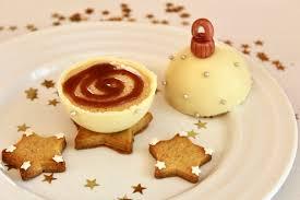 dessert de noël original et facile boule de noël chocolat chicorée