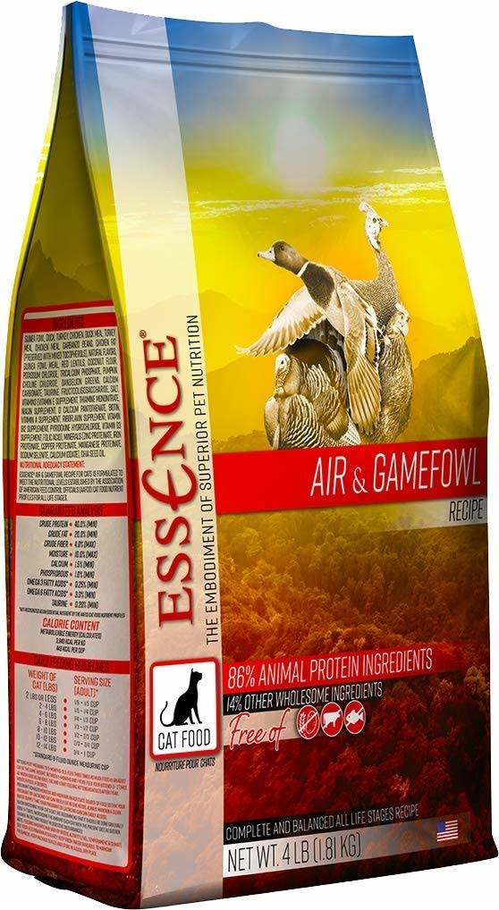 Essence Air & Gamefowl Dry Cat Food 4 lb