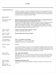 9+ HR Resume Examples - PDF | Examples