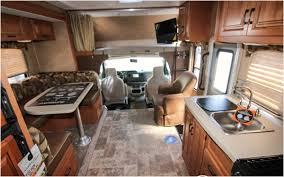 24 Foot Motorhome Interior