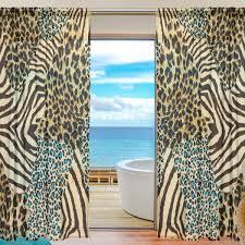 Shop Indoor Outdoor Green Zebra Print Shaped Area Rug 5 X 8