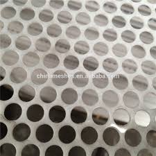 Perforated Drain Tile Menards by 4x8 Stainless Steel Perforated Sheet 4x8 Stainless Steel