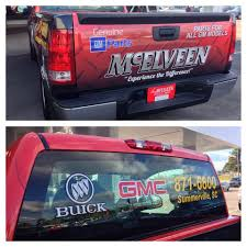 McElveen GMC Parts Truck Full Wrap - Summerville Signs And Banners ...