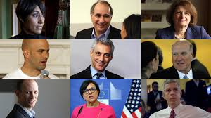 Cabinet Level Agencies Are Responsible To by Chicago U0027s U0027obama People U0027 Recall Key Jobs In His White House