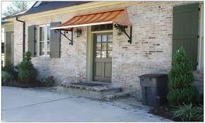 Metal Roof Awning, Copper Front Door Awning Front Door Awning ... Glass Canopy Over Front Door Image Collections Doors Design Ideas Copper Window Awnings A Awning On The Side Of Building Stock Photo Whlmagazine Collections Best Friend Arched Flat Seam Door Awning Raleighroofingcom Architectural Articles With Canvas Tag Amusing Awnings Metal Direct Innovation 127 Images Pinterest Standing Seam Atlantic Gallery Summit Inc Porch