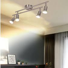 leuchten leuchtmittel led deckenstrahler 4er spot gu10