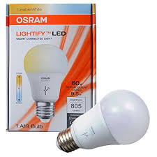 osram sylvania lightify dimmable 9 5w led light 60 watt equivalent