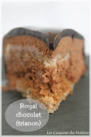 recette cap cuisine le royal ou trianon au chocolat cap la cuisine de malou