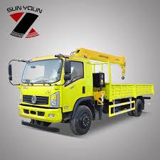 100 Pickup Truck Crane Mini Cargo Factory Price 63 Tons Telescopic