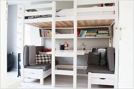 bunk bed closet underneath