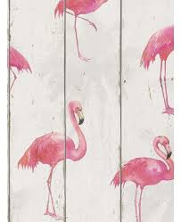 Rasch Barbara Becker Flamingo Wallpaper