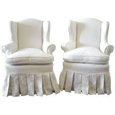 Skirted Wingback Chairs Ruffle Wing Chair Slipcover – Aaronbutler Chair Covers And Sashes Blue French Slipcovers Cedar Hill Farmhouse Ding Room Also Chair Ottoman Slipcovers Spandex Stretch Elastic Cloth Ruffled Washable White Oversized Best Home Decoration Country Linen Seat Cover With Ruffle Decor Slipcover For Parson Chairs Create Awesome Junk Chic Cottage Happy Sundayahaaa This Is Exactly The Slip By Paulaanderika On Etsy 9000 100 Ruched Fashion Embossed Spandex Ruffled Covers Buckle Wedding