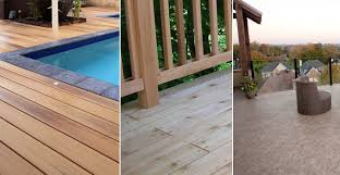 Comparison Chart Composite Decking Vs Cedar Wood Vinyl Aluminium