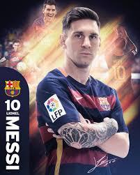 barcelona messi 15 16 poster plakat 3 1 gratis bei europosters