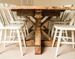Shabby Chic Dining Room Furniture Uk by Kitchen U0026 Dining Tables Etsy Uk