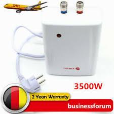 details zu 3500w elektrischer durchlauferhitzer küche badezimmer warmwasser heizung de dhl