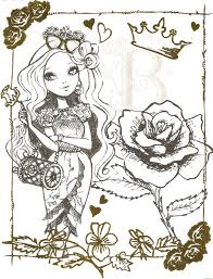 For Ever After High Coloring Pages