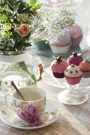 Diy Spring Table Decorations Afternoon Tea Cucpakes Decor