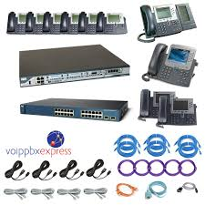 The Ten Enhanced - 10 Cisco IP Phone VoIP PBX System - Complete ...