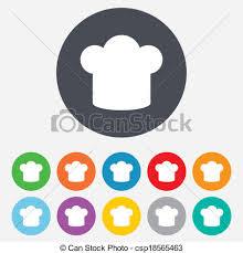 symbole cuisine cuisine symbole signe chef cuistot icon chapeau 11