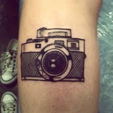 Tattoo Stylized Vintage Camera By Rodrigo