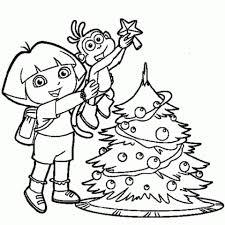 Dora The Explorer Coloring Pages Free Printable Jcaj28