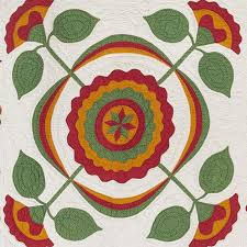 Botanical Wonders Flower Figure Quilts 1850 1950 From The Donna And Rodney Wasserstrom Collection